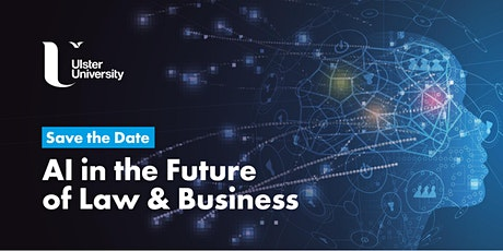 AI in the Future of Law and Business tickets