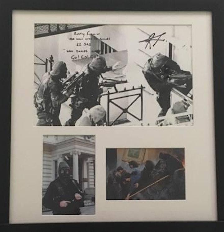 An Evening with SAS Iranian Embassy Siege Hero Rusty Firmin image