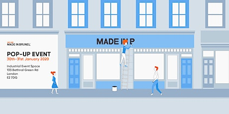 We Are MADE IN BRUNEL: Pop-Up tickets