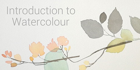 Introduction to Watercolour - with a focus on flowers + plants tickets
