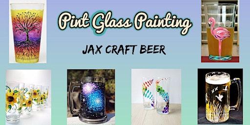 Pint Glass Painting at Jax Craft Beer!