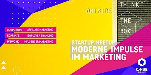 Startup Meetup: Moderne Impulse im Marketing