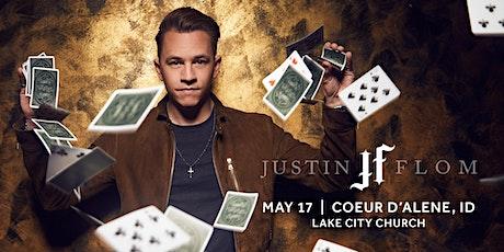 Justin Flom (Coeur d'Alene, ID)- NEW DATE TBD tickets