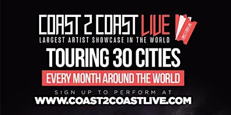 Coast 2 Coast LIVE Showcase Paris, FR - Artists Win $50K In Prizes billets