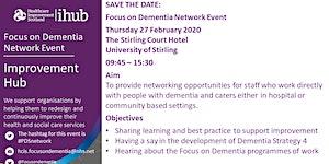 Focus on Dementia Network Event