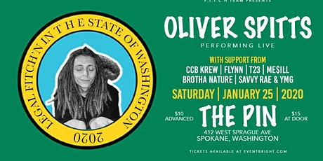 Oliver Spitts Live @ The Pin ( Spokane, WA ) tickets