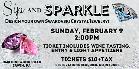 February Sip and Sparkle! tickets