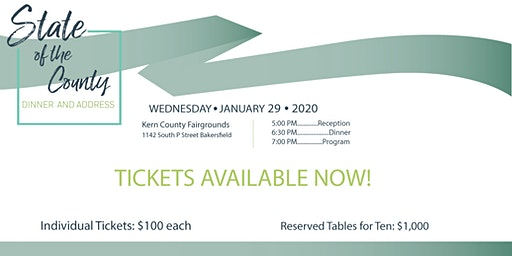 22nd State of The County Dinner and Address