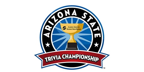 3rd Annual Arizona State Trivia Championship (Only $100 per Team) tickets