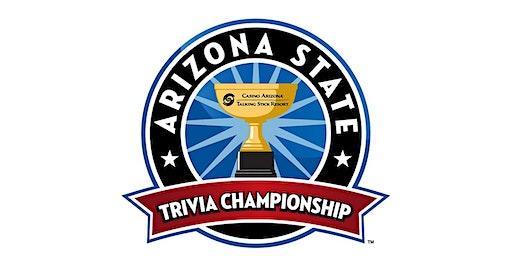 3rd Annual Arizona State Trivia Championship (Only $100 per Team)