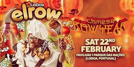 elrow Lisboa - Chinese Row Year tickets