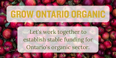 Grow Ontario Organic: A Check-Off with Choice tickets
