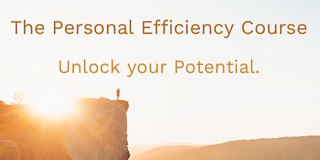 Personal Efficiency Course tickets