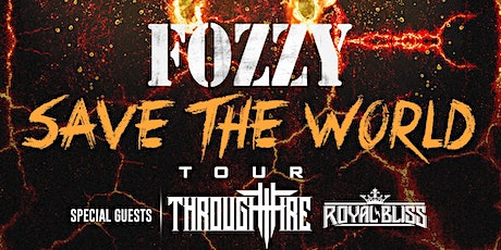 Fozzy tickets
