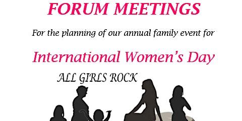 All Girls Rock 2020 - Forum Meetings