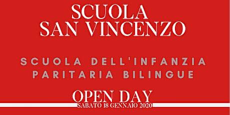 Open Day Scuola San Vincenzo biglietti