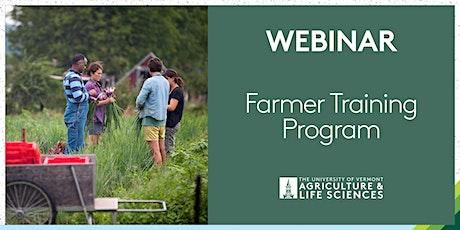 Farmer Training Program Webinar tickets