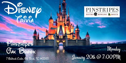 Disney Movie Trivia at Pinstripes Oak Brook