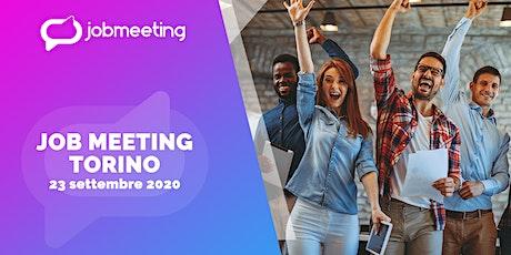 Job Meeting Torino: il 23 settembre incontra le aziende che assumono! biglietti