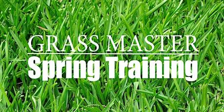 Grass Master Spring Training tickets