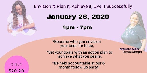 Vision Board 2020 Party