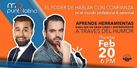 EL PODER DE HABLAR CON CONFIANZA tickets