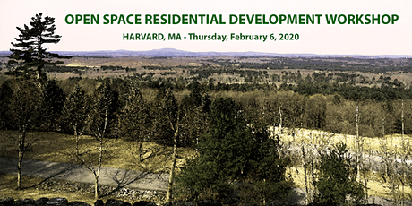 Open Space Residential Design Workshop - Harvard, MA tickets