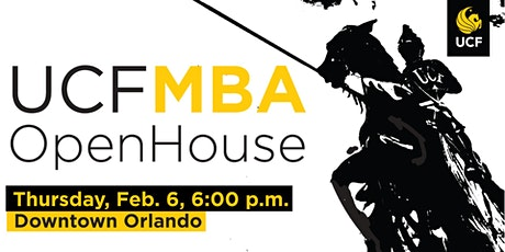 UCF MBA Open House | Feb. 6, 2020 tickets