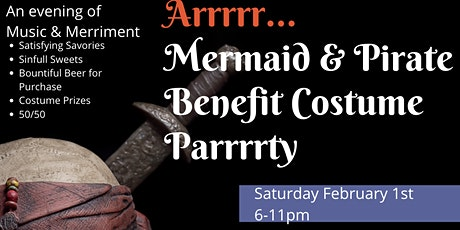Mermaid & Pirate Benefit Costume Parrrrty tickets