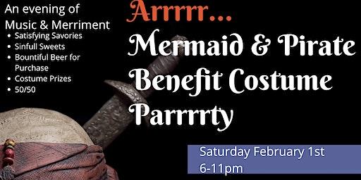 Mermaid & Pirate Benefit Costume Parrrrty