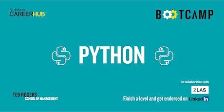 Python Bootcamp: Level 3 tickets