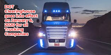 FMCSA Clearinghouse overview for all trucking companies Hays KS tickets