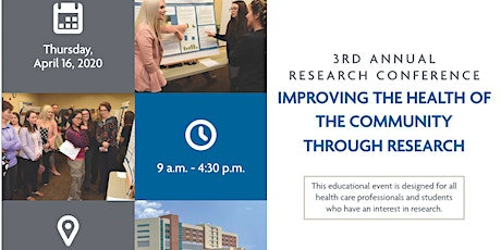 Vendor Registration: CoxHealth's Research Conference tickets