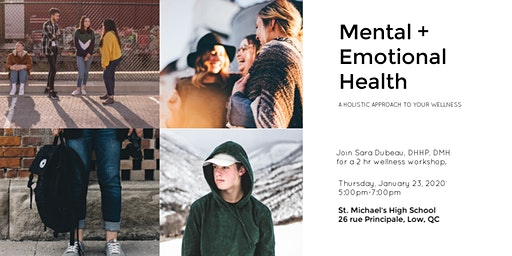 Mental + Emotional Health Workshop: St. Michael's High School