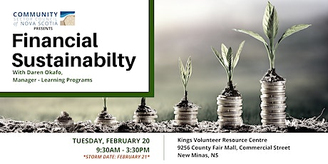 Financial Sustainability - VALLEY tickets