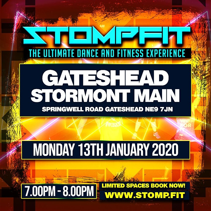 STOMPFIT | GATESHEAD |THE ULTIMATE DANCE & FITNESS EXPERIENCE image