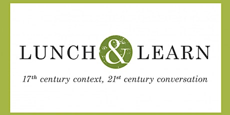 Lunch & Learn: First Fruits, Forgiveness & Festival tickets