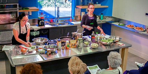 Cooking Demo:  Plant-forward Eating