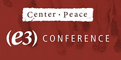 e3 Conference tickets