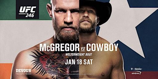 UFC 246: McGregor vs. Cowboy at Red Bar and Lounge