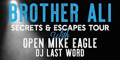 Brother Ali - Secrets & Escapes Tour tickets