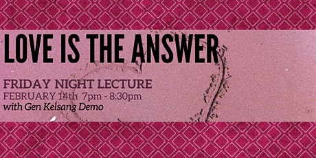 Love is the Answer tickets
