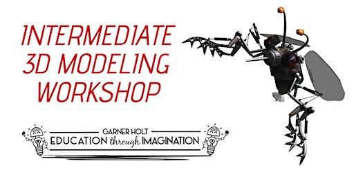 Intermediate 3D Modeling Workshop