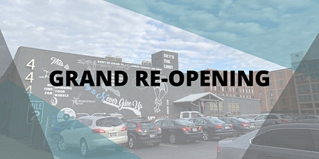 Grand Re-Opening- WBI 444 tickets