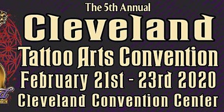 The 5th Annual Cleveland Tattoo Arts Convention tickets