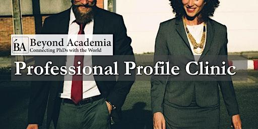 Professional Profile Clinic 2020