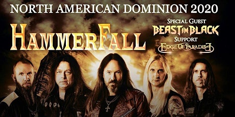 Hammerfall tickets