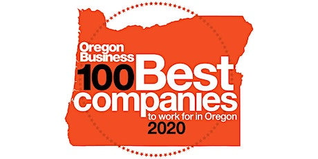 2020 100 Best Companies to Work For in Oregon awards presentation and dinner tickets