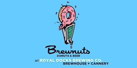 Brewnuts Donuts & Beer at Royal Docks tickets