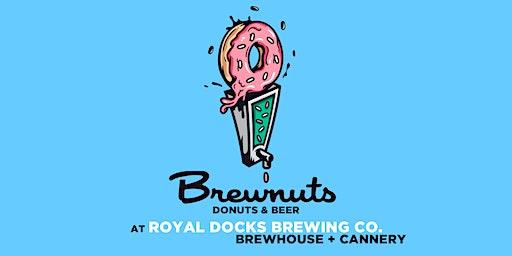 Brewnuts Donuts & Beer at Royal Docks